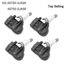 4pcs 40700-3JA0A Tire Pressure Monitor Systems TPMS Sensor 407003JA0A For Nissan Infiniti 433MHz