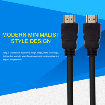 Thin HDMI Cable Gold Plated Plug Male- Male For HD TV Computer Apple Laptop PS4 Xbox 1.5m 3M 5M 15M 1080p 3D 1.4