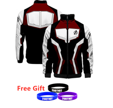 Avengers 4 Endgame Quantum Realm Jackets Popular Hoodie Cosplay Avengers Clothing Costumes Zipper 3D Clothes Popualr Clothing