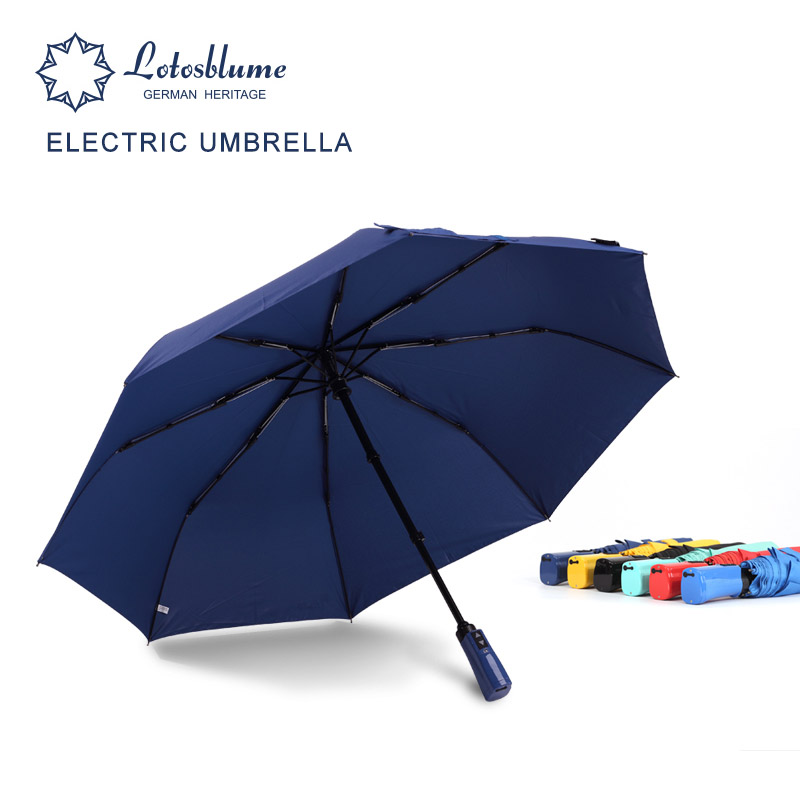 New Smart Electric Automatic Umbrella Rain Women Men Brand 8K Windproof Fully Auto Folding Umbrellas Sunscreen Anti UV Parasol