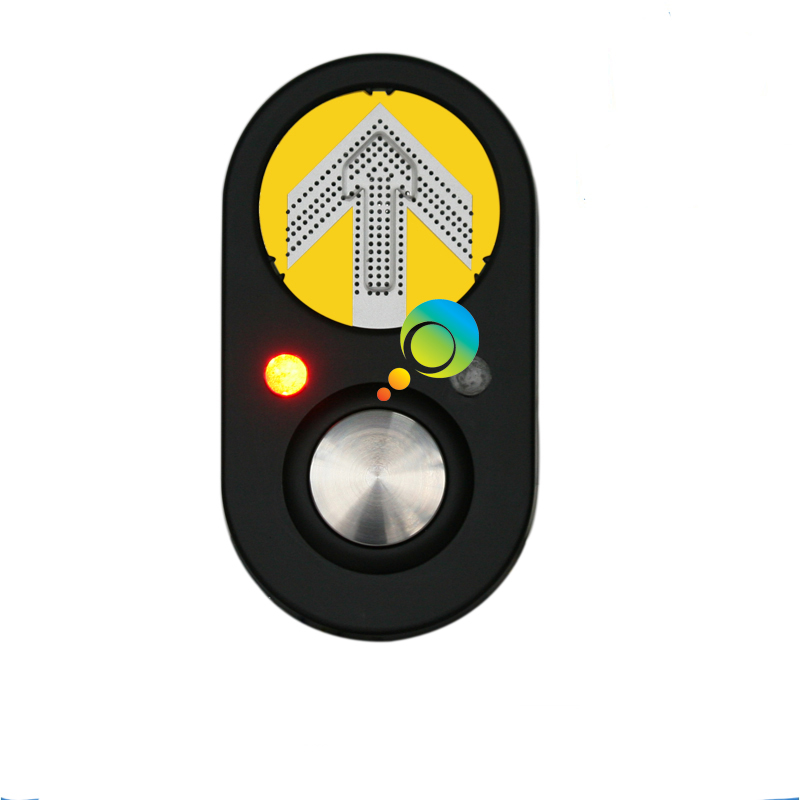 Back To Search Resultssecurity & Protection Traffic Light High Quality Yellow Arrow Steel Portable Traffic Pedestrian Signal Push Button