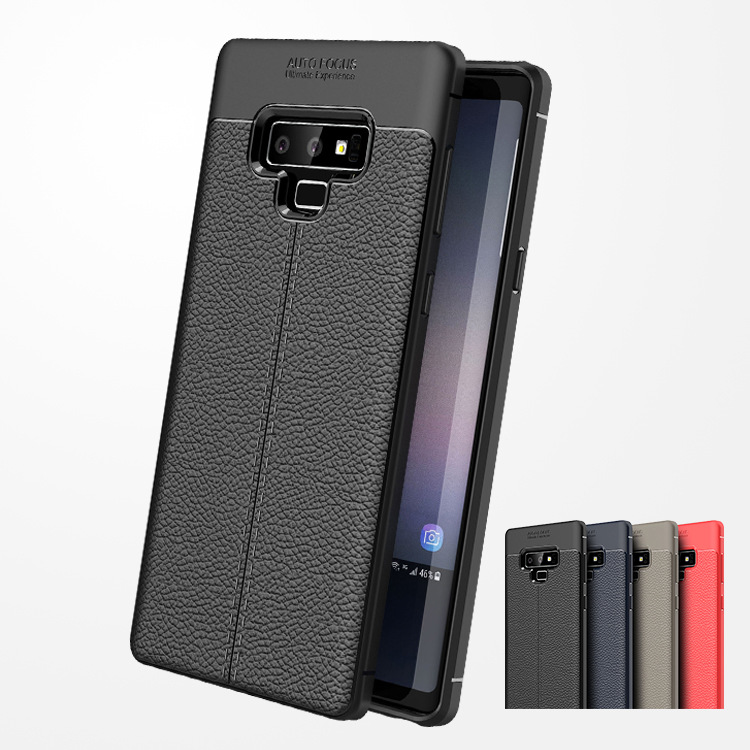 Note 9 Case Carbon Fiber TPU leather Case For Samsung Galaxy Note 9 Note9 Cases Full Back Cover For Samsung Note 9 Fundas Capa