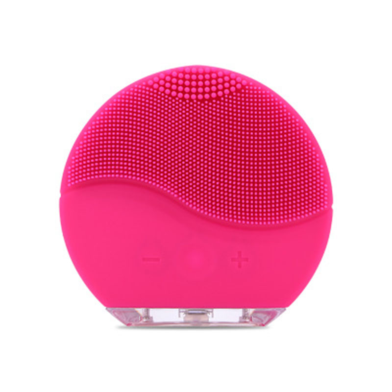 Skin care Mini electric facial cleaning massage brush sonic face washing machine waterproof silicone face cleanser