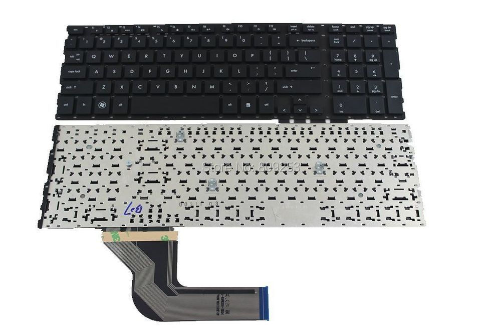 Laptop Keyboard for HP ProBook 4515S laptop Keyboard without frame US Fully tested and Free shipping laptop keyboard for hp probook 4510s 4515s black without frame farsi sn5092 sg 33200 80a