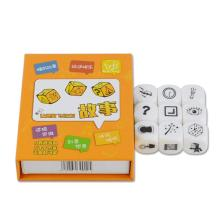 9Pcs Dice Creative Story Telling Family Party Children Kids Intelligence Toy