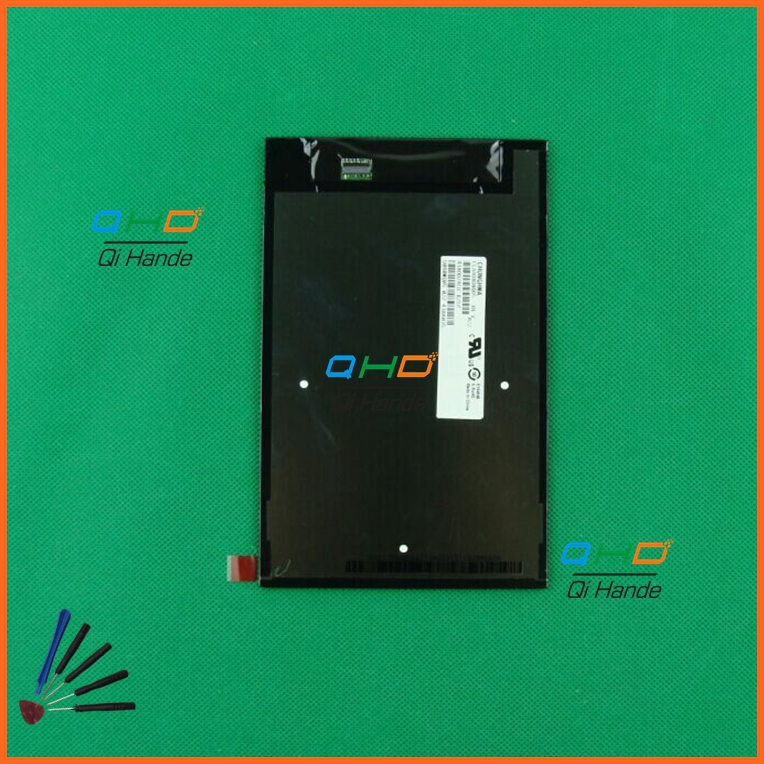 все цены на  Original 8'' inch LCD Display Screen Panel Repair Parts Replacement For Lenovo A8-50 A5500 CLAA080WQ05 XN V Free shipping  онлайн