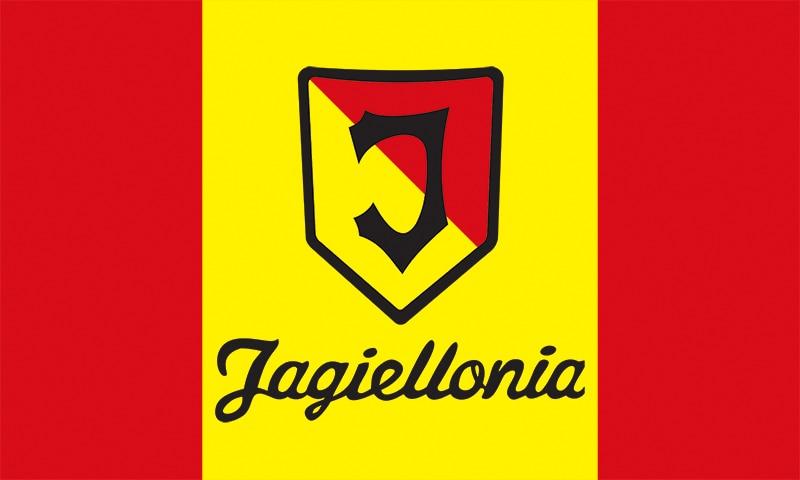 Pologne Jagiellonia Bialystok Taille 3ft * 5ft 90*150 cm drapeau équipe sportive drapeaux bannière personnalisée