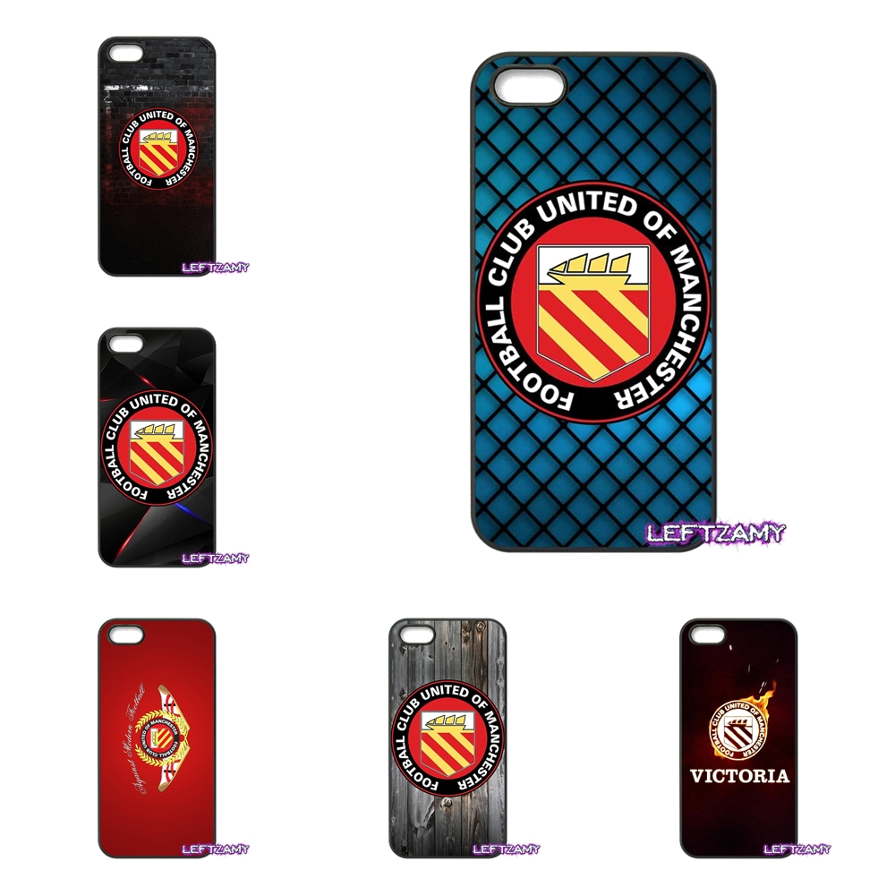 FC United Of Manchester Logo Hard Phone Case Cover For HTC One M7 M8 M9 A9 Desire 626 816 820 830 Google Pixel XL One Plus X 2 3
