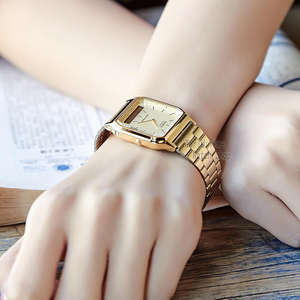 Image 4 - Casio watch 골드 시계 브랜드 남성용 최고급 쿼츠 디지털 남성 시계 스포츠 방수 시계 듀얼 디스플레이 방수 часы мужские relogio masculino reloj hombre erkek kol saati montre homme zegarek meski AQ 230