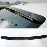 A4 B8 ABT style Carbon Fiber roof spoiler wing for Audi A4 B8 2010~2013