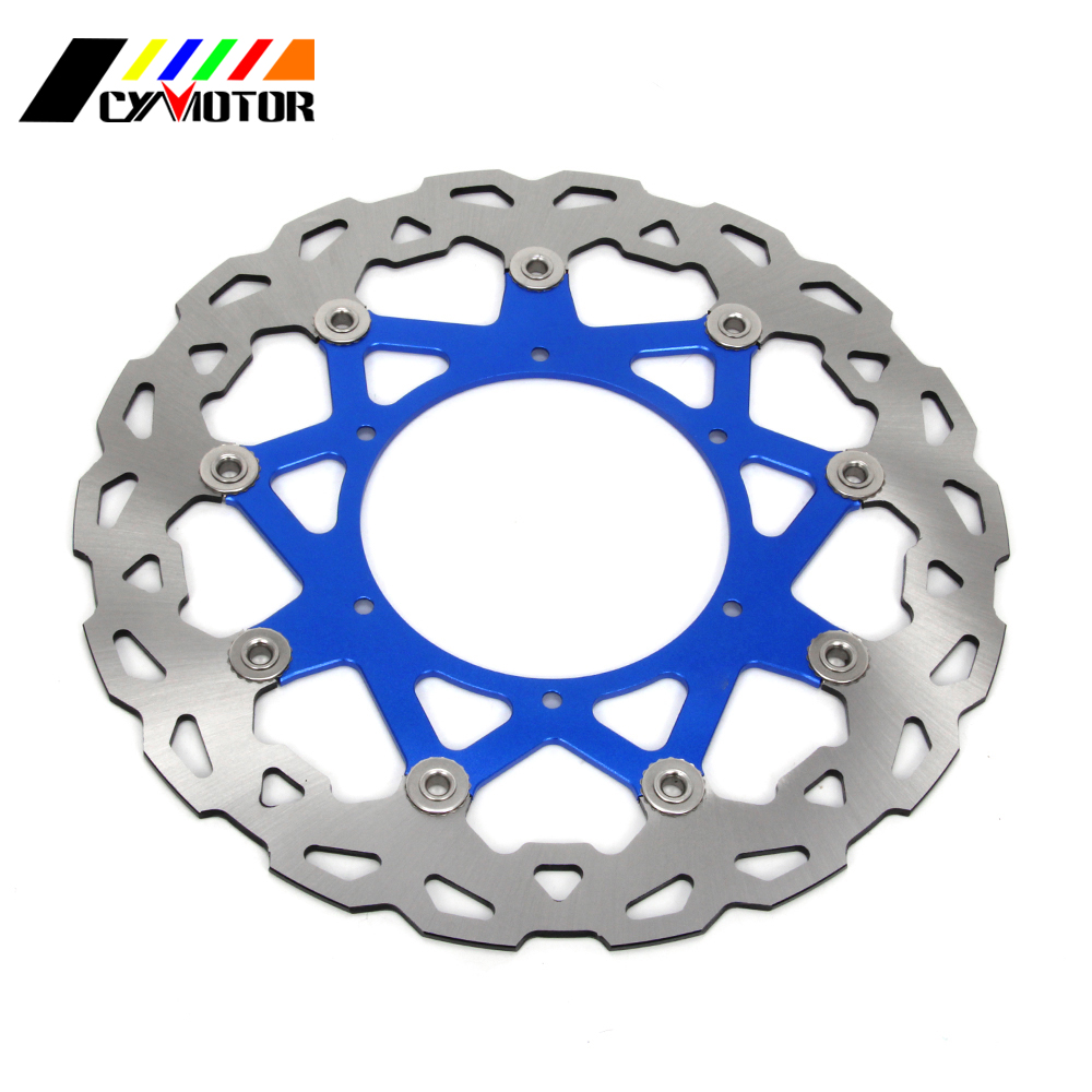 320MM Floating Brake Discs Rotor For YAMAHA WR250 YZ250 WR250F YZ250F WR426F YZ426F WR450F YZ450F WR YZ WRF YZF 250 426 450 держатель wester 990 003 горелка