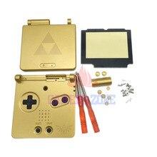 Золото Для Zelda Limited Edition Дело Shell Жилищного для GBA SP