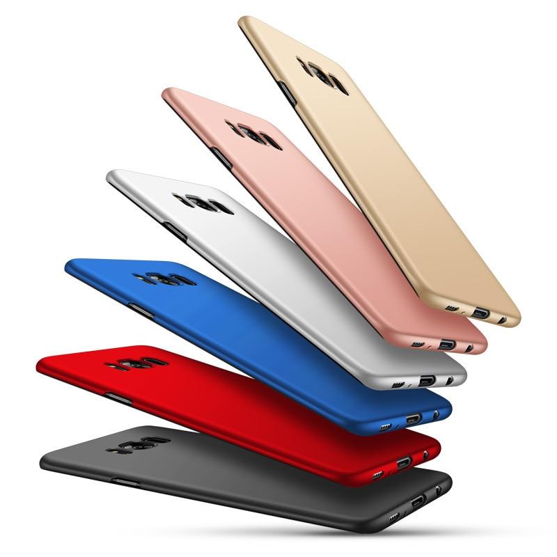 Matné zadní kryt pouzdro pro Samsung Galaxy S7 edge Fosco Hard PC Cover Skin Shell Capa pro polské pouzdro Galaxy S8 S8 Plus