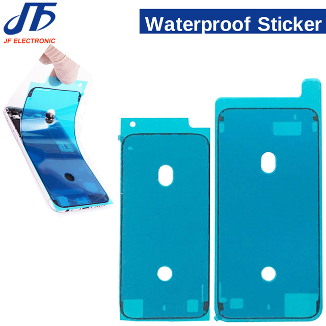 100pcs Waterproof Sticker for iPhone 7 6S Plus 7Plus 8 X XR XS MAX 8P 3M Adhesive Pre Cut LCD Screen Frame Tape Repair Parts