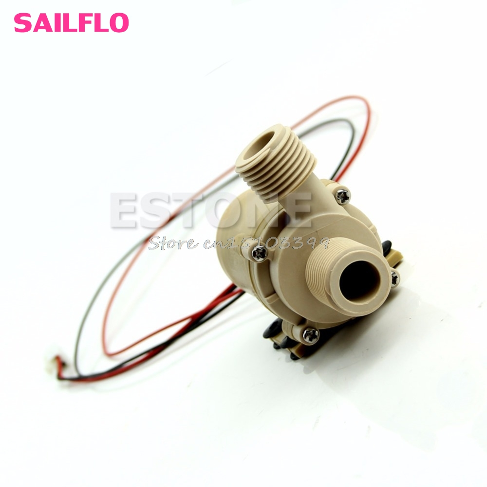 New DC 12V Solar Hot Water Circulation Pump Brushless Motor Water Pump 3M G08 Whosale&DropShip
