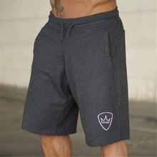 2018 nueva marca para hombre Jogger deportivo delgada pantalones cortos  hombres negro culturismo pantalones cortos Hombre 4f9564795c09