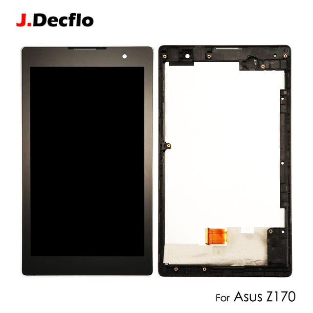 LCD Display For Asus Zenpad C Z170 Z170CG Touch Screen Digitizer Assembly Replacement with Frame Original Black 7.0''