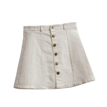 Denim Skirt YEL 3
