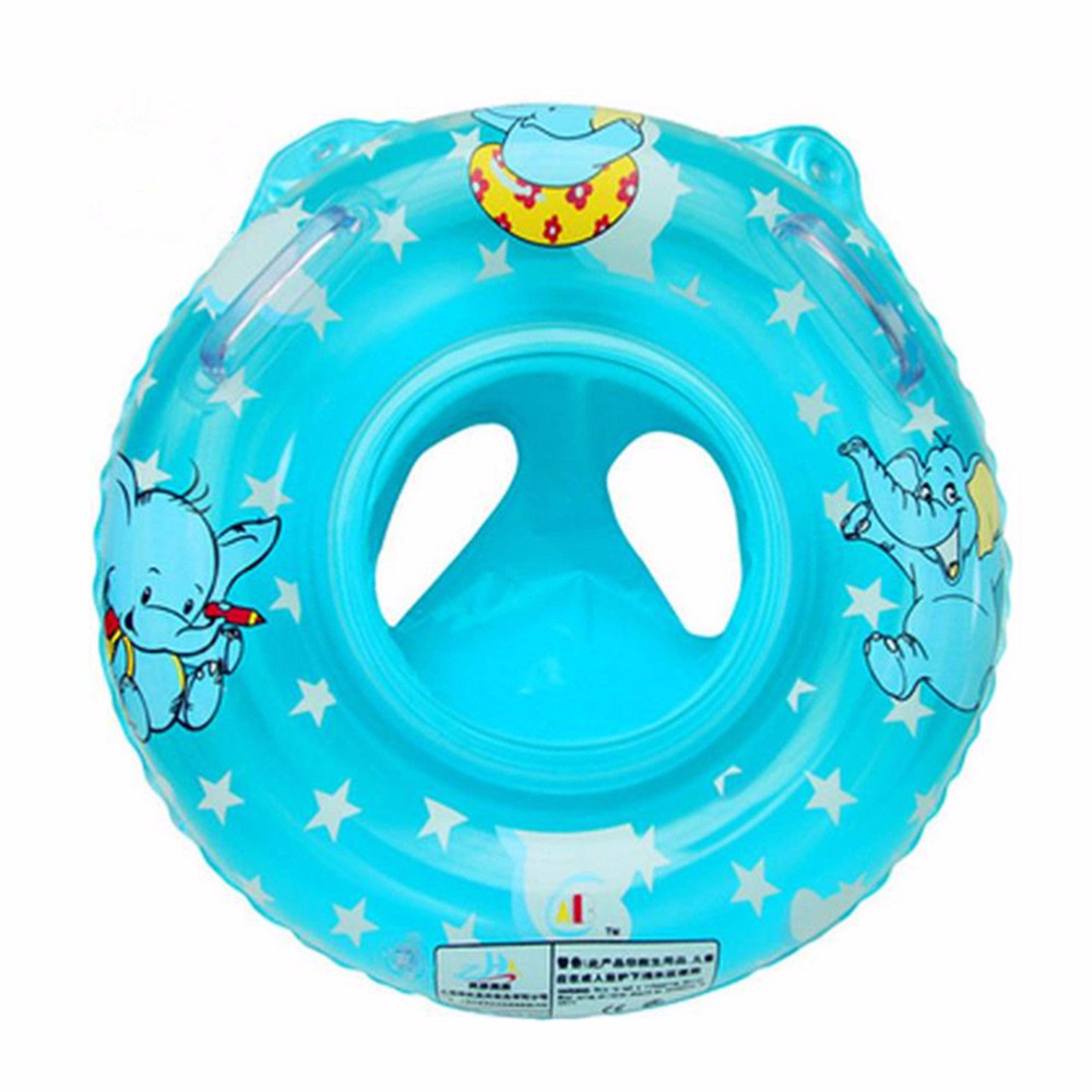 Baby Cartoon Swim Pool for children Accessories Inflatable Baby swimming ring Elephant seat ring baby summer circle for swimming