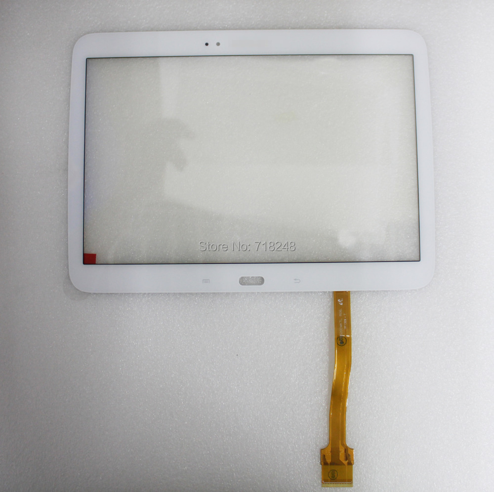 NEW 10.1 White For Samsung Galaxy Tab 3 P5200 P5210 Touch Screen Glass Panel Digitizer