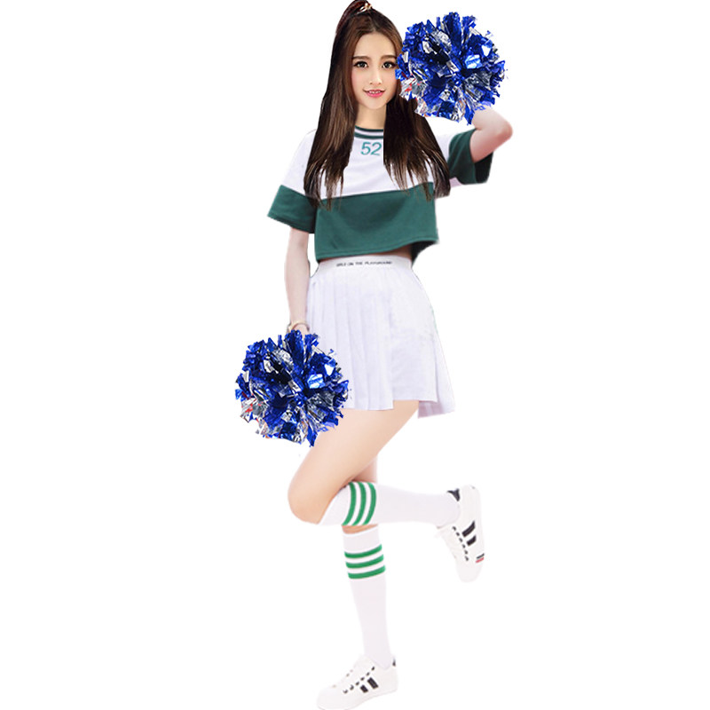 2019 Summer Hot Beautiful Cheerleading Uniforms Football Girl Hip Hop Clothing For -1276