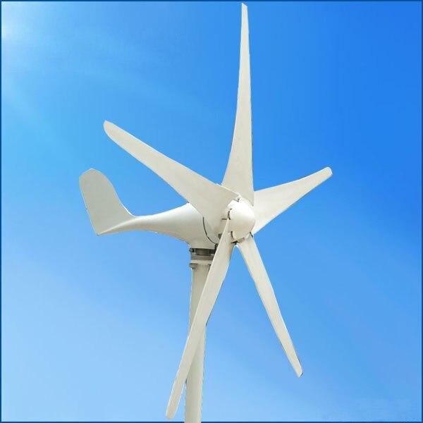 100w with 5 blades windmill horizontal wind turbine  with CE ,ISO