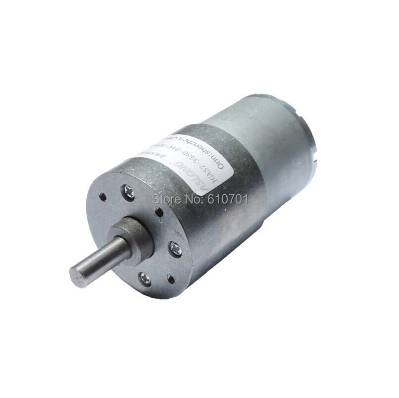 12V 24V Rated Voltgae Rotate Speed Reduction Electric DC Geared Motor JGA37-3530 666/263/100/40/23rpm 400/157/60/24/14/6rpm  dc 12v 60rpm 2 terminals connectortorque speed control geared motor