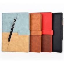 Elfinbook X Astuta di Cuoio Riutilizzabile Cancellabile Notebook Forno A Microonde Onda Nube Cancellare Nota Notepad Rilievo Allineato Con La Penna