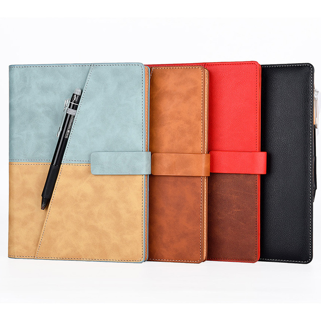 Elfinbook X Leather Smart Reusable Erasable Notebook Microwave Wave Cloud Erase Notepad Note Pad Lined With Pen