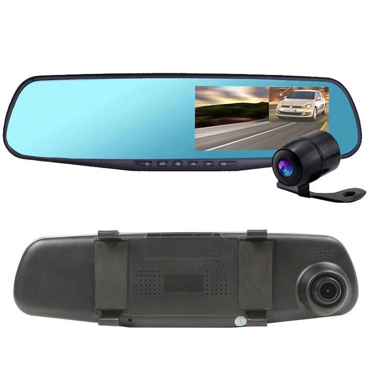 4.3 en 1080 P FHD rétroviseur voiture DVR Dash Cam Blackbox caméra enregistreur vidéo