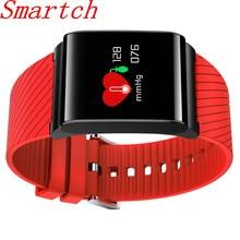 Smartch X9 Pro Smart Браслет Presión arterial сердечного ритма Мониторы Bluetooth SmartBand Цвет OLED предупреждение Smart Band Фитнес трекер