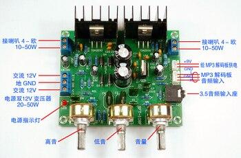 Placa amplificadora TDA2030 A/módulo amplificador de potencia HIFI 2,0-Canal 15W + 15 W/módulo amplificador compatible LM1875 TDA2030 A