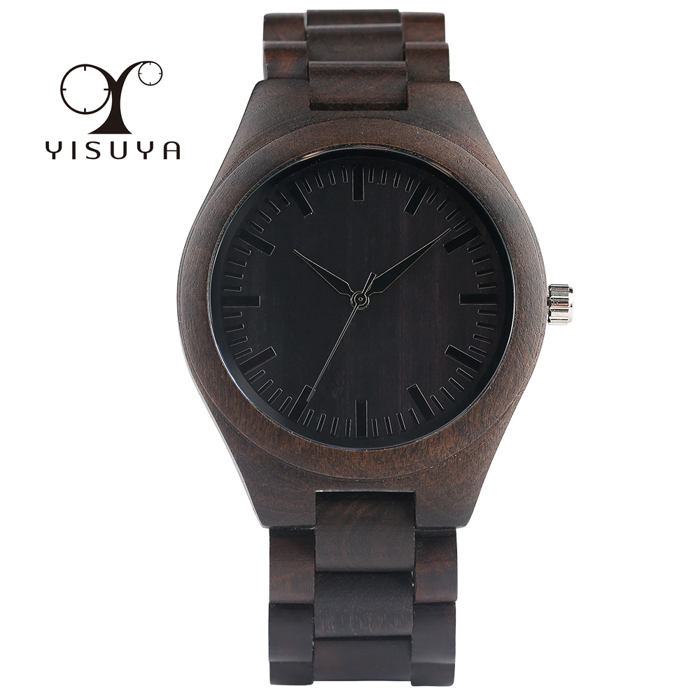 Full Wooden Watches Man Creative Simple Bracelet Analog Nature Bamboo Quartz Wristwatch Male Clock Relogio Masculino Luxury Gift vintage wooden wristwatch full wood case analog classic zebra pattern band male female clock simple sport quartz watch relogio