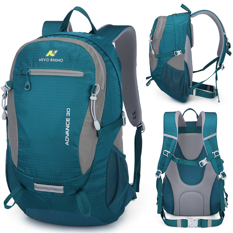 30L NEVO RHINO Waterproof Men's <font><b>Backpack</b></font> <font><b>Unisex</b></font> travel pack bag hiking Outdoor Mountaineering Climbing Camping <font><b>backpack</b></font> for male image