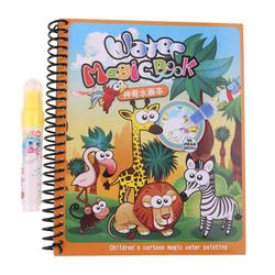 Heißer Baby Wald Magie Wasser Zeichnung Tuch Buch Baby Malerei Kritzeln Wasser Zeichnung Matten Spielzeug Wiederholen Malerei für Kinder