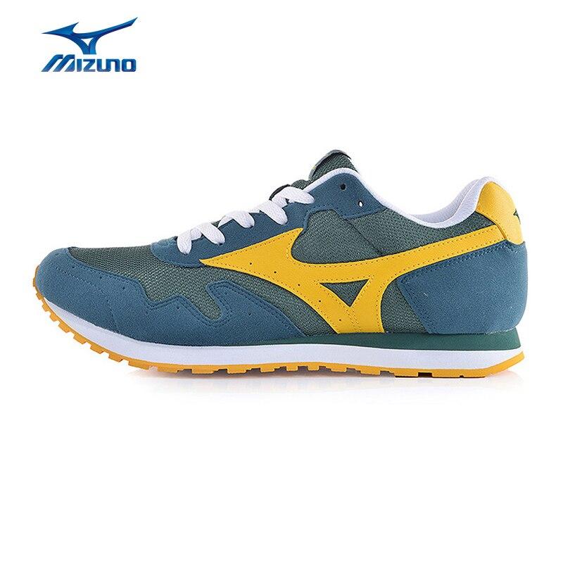 ФОТО MIZUNO Men's SKYROAD Walking Shoes Retro Leisure Sneakers Comfort Breathable Sports Shoes D1GA161139 XMR2572