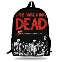 New Arrivals Popular The Walking Dead PC Game Printing Backpack laptop school bags for teenage boys&girls school student bookbag