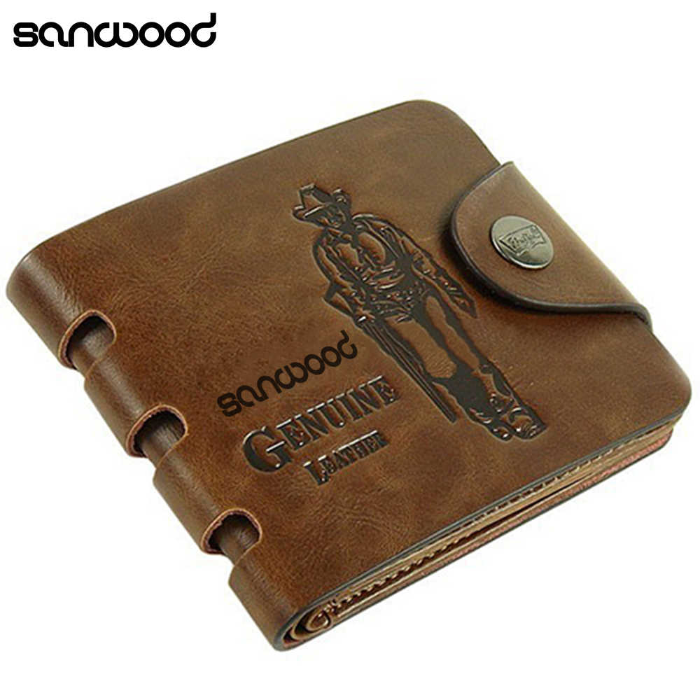 1a79cc8bc04e Detail Feedback Questions about 2016 Men's Genuine Leather Wallet ...