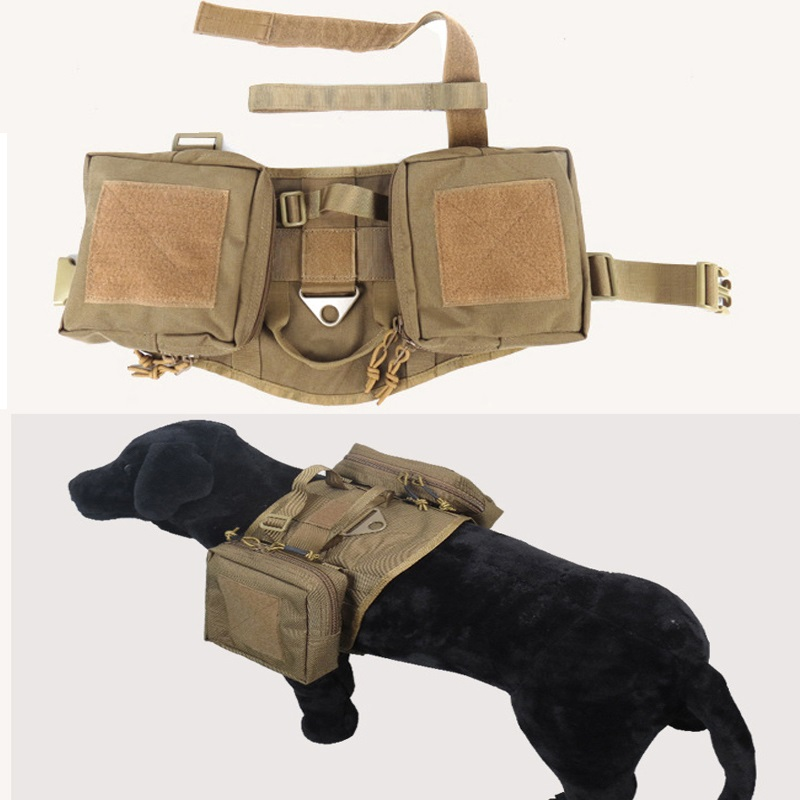 Outdoor Protection Tactical Dog Vests Military Dog Clothes Load Bearing Harness SWAT Dog Training rescue Molle 1000D Nylon VestOutdoor Protection Tactical Dog Vests Military Dog Clothes Load Bearing Harness SWAT Dog Training rescue Molle 1000D Nylon Vest