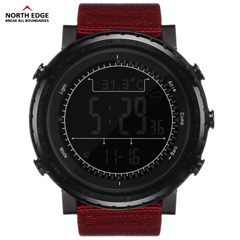 Men's Watches Disciplined Northedge Mens Sport Digital Watch Hours Men Gift Military Wristwatch Altitude Barometer Compass Thermometer Pedometer Camping