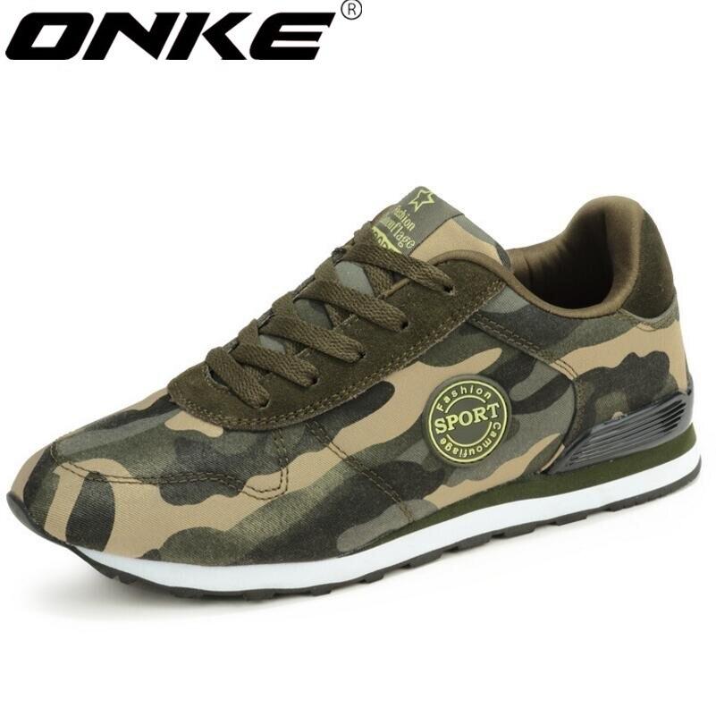 Nouvelle annonce ventes chaudes Printemps et automne Unisexe Jungle camouflage espadrilles hommes et femmes chaussures de course a1698