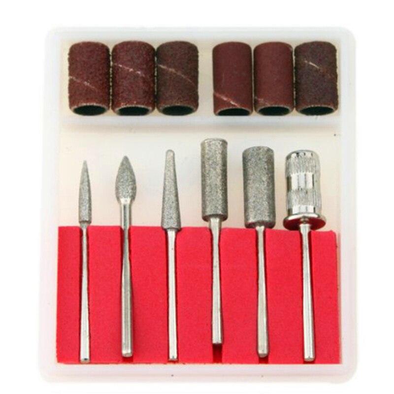 kit de Polissage avec Bande Manchons de Tambour de Sable Walfront 102Pcs Anneau de Pon/çage Abrasif Rotatif Meulage