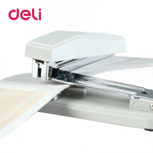 Deli 1pcs Rotary Stapler Binding 25 Pages Rotated 180 Degrees without Staples for Paper School Office Accessories