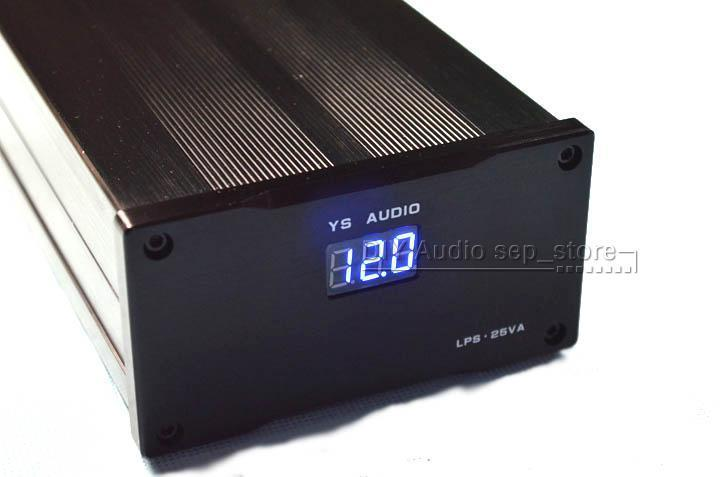 HIFI 25VA MOS Linear Power Supply LPS DC 5V 9V 12V 15V 18V 24V Choose