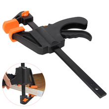 6 Inch Wood-Working Bar Clamp Quick Ratchet Release Speed Squeeze  Hand Tools