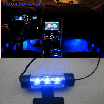 high quality LED Car Interior Decoration Light FOR toyota yaris audi a5 toyota rav4 passat b6 polo 9n mitsubishi asx image