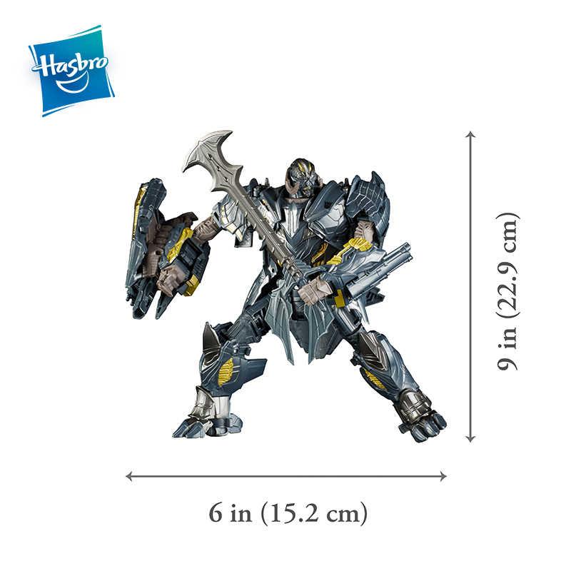 הסבר רובוטריקים צעצועי האחרון אביר פרמייר מהדורת מנהיג כיתת מגהטרון מסיט פעולה איור אוסף דגם בובות