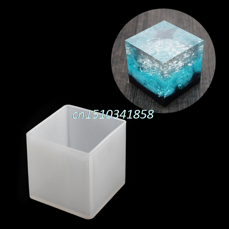 New Hand Craft DIY Cubic Silicone Resin Jewelry Casting Making Mold Tools #Y51#