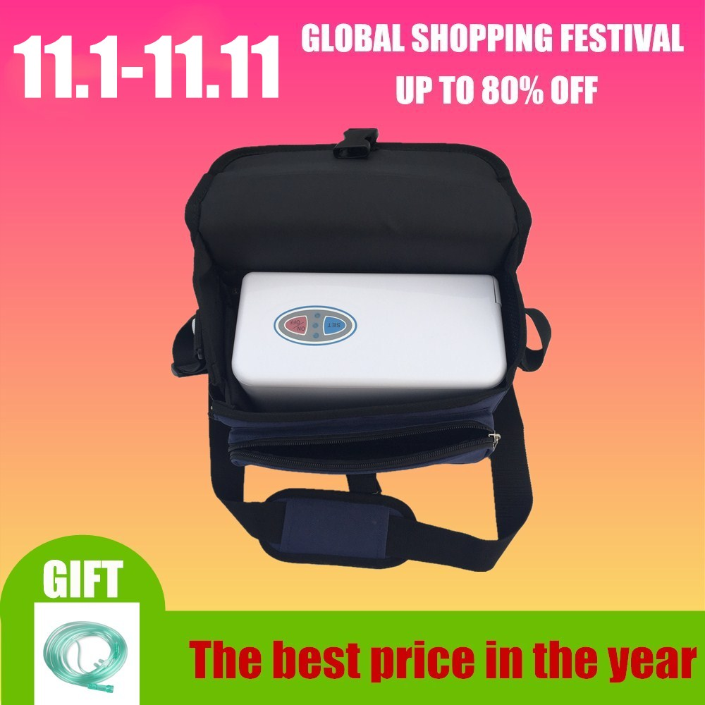 все цены на XGREEO Battery Operated Genuine Portable Oxygen Concentrator home travel with car recharger oxygen tank