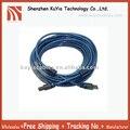 Бесплатная Доставка + Высокое качество + USB Мужчина к Мужчине B USB Кабель Принтера Шнур 33 Футов (10 м) Синий